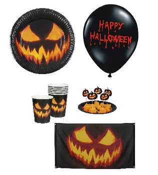 Zestaw Halloween, 25 elementów