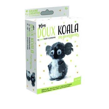 Zestaw kreatywny dla dzieci miś KOALA - miś koala-GRAINE CREATIVE