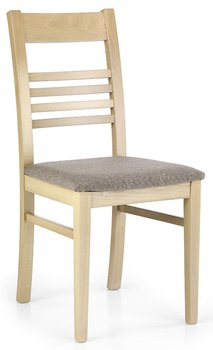 Zestaw krzeseł ELIOR Umer, beżowo-szare, 54x43x90 cm, 4 szt.-Elior