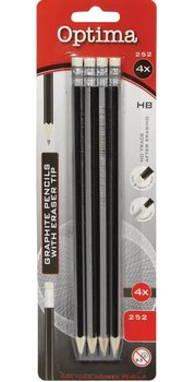 Zestaw ołówków HB, Optima, 12 opakowań