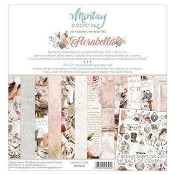 Zestaw papierów do scrapbookingu, Florabella, 30x30 cm-Mintay Papers