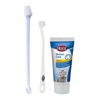 Zestaw pielęgnacyjny dla zębów kota TRIXIE-Trixie