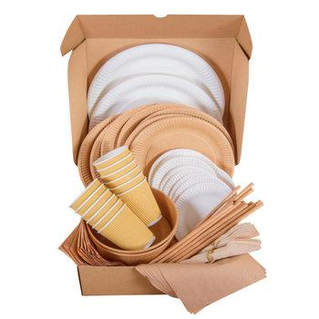 Zestaw piknikowy VI eko, 12 osób-Polleaf