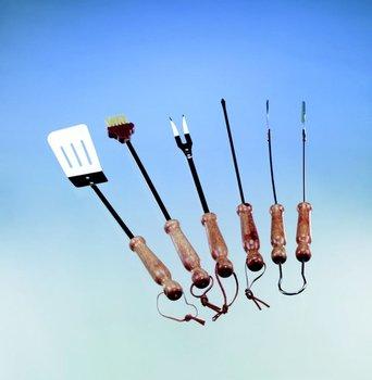Zestaw sztućców do grilla LANDMANN 218, 43,5 cm, 5 elementów-LANDMANN