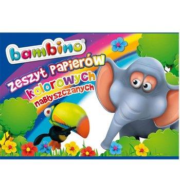 Zeszyt papierów kolorowych, nabłyszczanych, Bambino, A4-Bambino