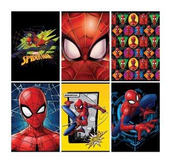 Zeszyt w linie, Spiderman, A5, 10 sztuk, mix wzorów