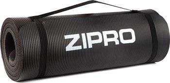 Zipro, Mata do ćwiczeń, czarny, 180x60cm-Zipro