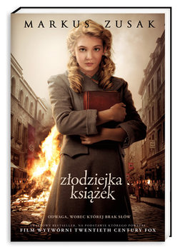 Znalezione obrazy dla zapytania Złodziejka książek-Zusak Markus