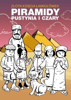 Złota księga łamigłówek. Piramidy, pustynia i czary-Guzowska Beata