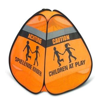 Znak 3d Ostrzegawczy Uwaga Dzieci Się Bawią, Reer-Reer