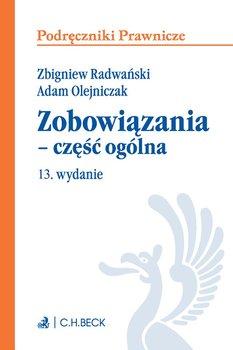 Zobowiązania - część ogólna-Olejniczak Adam, Radwański Zbigniew