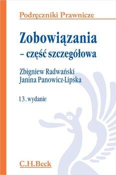Zobowiązania - część szczegółowa-Panowicz-Lipska Janina, Radwański Zbigniew
