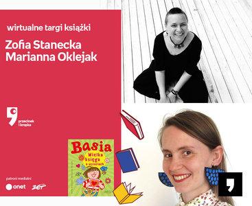 Zofia Stanecka, Marianna Oklejak – SPOTKANIE | Wirtualne Targi Książki. Przecinek i Kropka