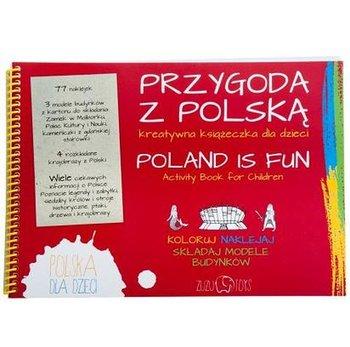 Zuzu Toys, Przygoda z Polską, kreatywna książeczka-Zuzu Toys
