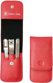 Zwilling, Classic Inox, zestaw do manicure, 3 elementy + skórzane etui-Zwilling
