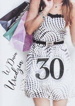 Życzenia na 30 urodziny dla kobiety M 674-Maja