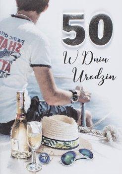 Życzenia na 50 urodziny dla mężczyzny M 677-Maja