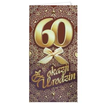 Życzenia na 60-te urodziny EZ 168-ENZO