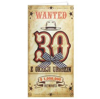Życzenia urodzinowe na 30-tkę EZ 158-ENZO