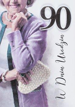 Życzenia urodzinowe na 90 lat dla Damy M 686-Maja