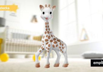 Żyrafa Sophie – gryzak dla niemowląt, który podbił świat. Dlaczego?